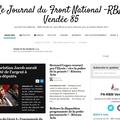 Nouveau: quotidien, le journal du front national - rbm , vendée 85.