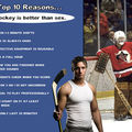 Top 10 reasons... hockey is better than sex