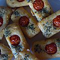 Financiers au parmesan...