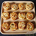 552 - <b>Pizza</b> rolls aux 4 fromages