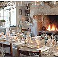 Concours: dressez la plus belle table de fête pour noël et vous serez peut-être la gagnante!