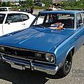 <b>Plymouth</b> Valiant 4door sedan-1970