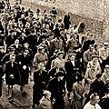 TRELON - Une Procession au début des années 50 ***