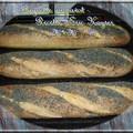 La baguette au pavot, recette d'eric kayser
