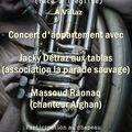 Concert indien - afghan