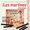 Les martines on the beach!