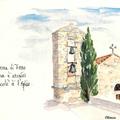 Le clocher de Serra di Ferro