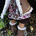 Maeva, poupée waldorf de 42cm