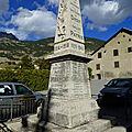 L'envol du monument aux morts de la roche-de-rame !