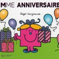 Madame anniversaire