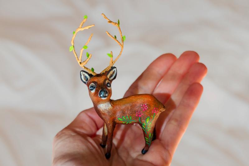 Deer4_Papiermache_Sculpture_AlinePallaro_2018