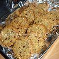 L'été et la chaleur, voici des biscuits salés pour l'apéro...