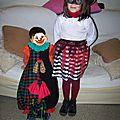 clown et pirate