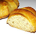 Gâteau de semoule au miel des Cévennes