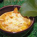 Gratins d'abricots à la crème d'amande