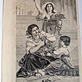 DE CURZON <b>BOUQUETIERE</b> DE NAPLES ITALIE 1860 SC 261