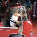Sophie... Rémi au volant de son bus !