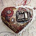Coeur mixed média