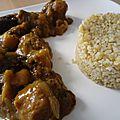 Curry aux fruits secs