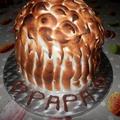 Gâteau madeleine au citron & mascarpone pour la fête des papa