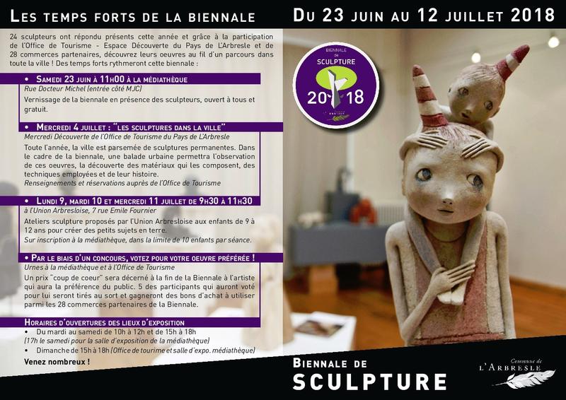 L'ARBRESLE 2018 programme