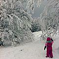 Un dimanche à la neige...