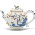 A very rare Meissen teapot and cover, circa <b>1729</b>-30