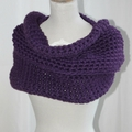 Snood XXL cosy {crochet}