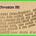 07 novembre 1918