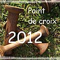 Point de croix 2012