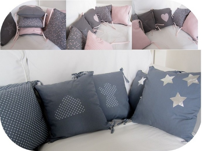 faire un tour de lit pour bébé Tours de lit en série   La Mimi Factory faire un tour de lit pour bébé