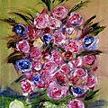 Le <b>bouquet</b> de <b>roses</b>