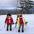 Maryllis au ski