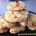 Cookie lardons et mozzarella