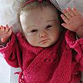 bébé reborn Rose est adoptée :-)