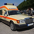 <b>MERCEDES</b> 260E W124 ambulance 1992
