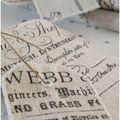 Calligraphie réf.carnetcalli - protège carnet lin