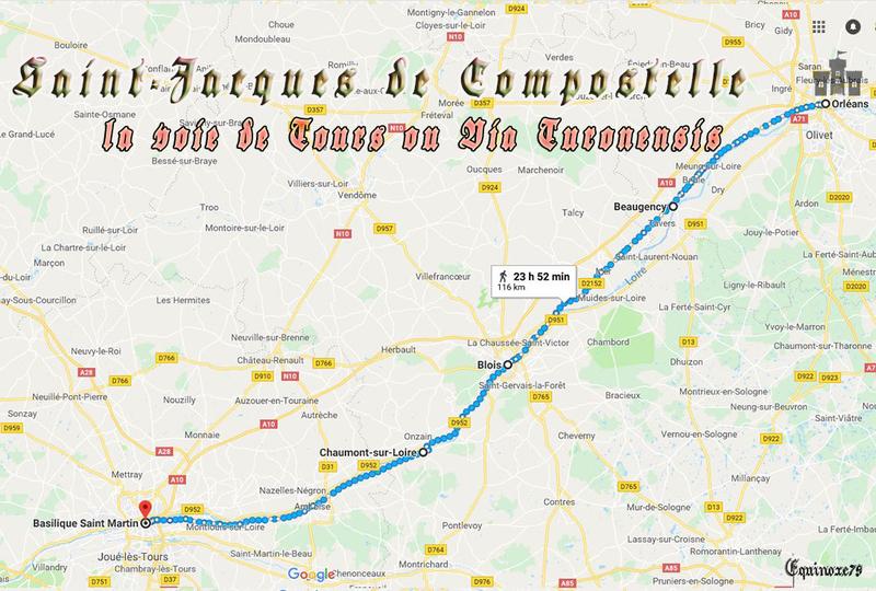Chemins de Compostelle- la Voie Tours Turonensis (3)