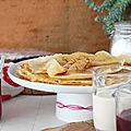 La recette des crêpes de l'hotel Crillon par le chef pâtissier Christophe Felder