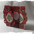cARTe zig-zag à imprimer : le sapin de Noël de Crafts-U-Print