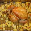 Poulet au crouton