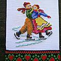 deux patineurs pour Roselyne