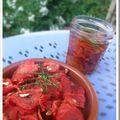 Pétales de tomates séchées