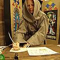 Expo vivante Moyen-Âge à la bibliothèque