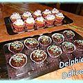 Cupcakes au chocolat de mon fournil