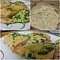 <b>Saumon</b> en croûte d'herbe et sauce relevée