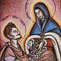 Notre Dame de Guadalupe et Saint Juan Diego