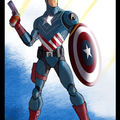 Captain america contest
