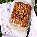 Gâteau banane-framboise - torta banana-frambuesa