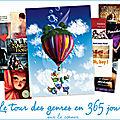 {Challenge Le tour de genres en <b>365</b> <b>jours</b>}